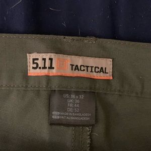 5.11 Taclite Pro pants, 36x30 (hemmed)